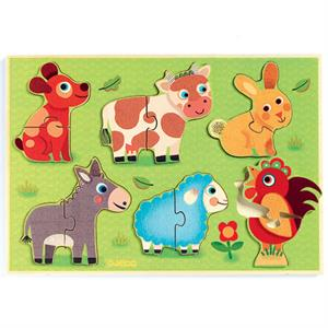 Puzzle de Madera Coucou-Cow