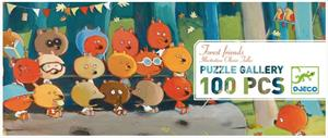 Puzzle Gallery 100 Piezas Forest Friends