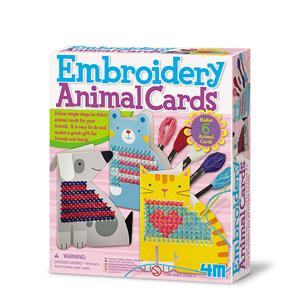 Manualidades - Bordar Cartas de Animales
