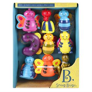 Baby Set de 9 animalitos - Snug Bugs