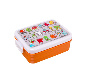 Caja para Almuerzo Tyrrell Lunch Box Monstruos